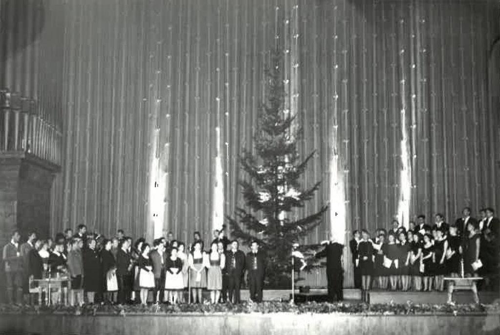 1962 Kongresssaal Gesamtbild
