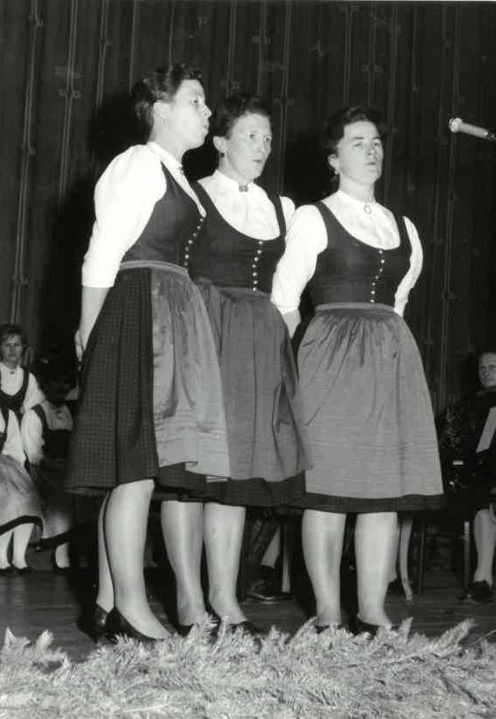 1963 AS Roaner Sängerinnen